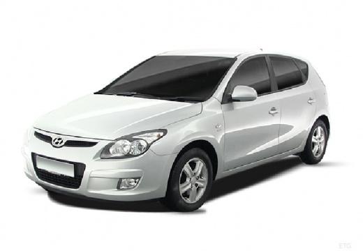 HYUNDAI i30 I hatchback silver grey