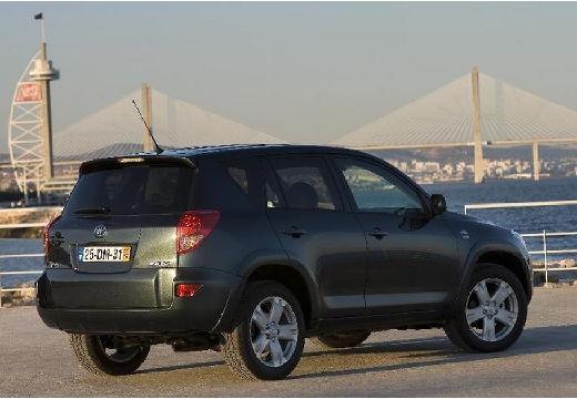 Toyota RAV4 IV kombi czarny tylny prawy