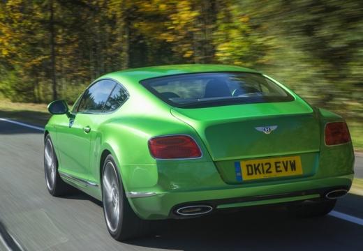 BENTLEY Continental GT II coupe zielony tylny lewy