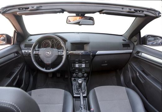 OPEL Astra TwinTop kabriolet czarny tablica rozdzielcza