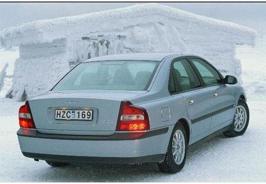 VOLVO S80 I sedan silver grey tylny prawy