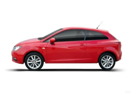 SEAT Ibiza hatchback boczny lewy