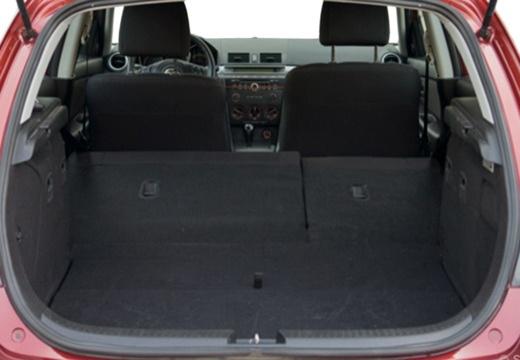 MAZDA 3 II hatchback przestrzeń załadunkowa