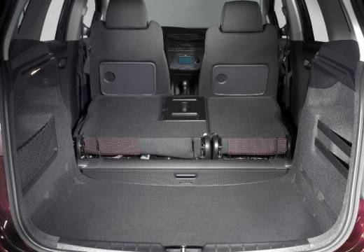 SEAT Altea hatchback czerwony jasny przestrzeń załadunkowa