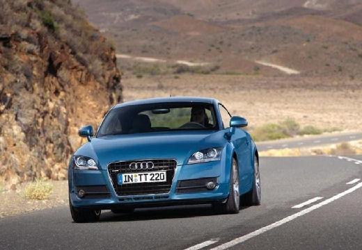 AUDI TT I coupe niebieski jasny przedni lewy