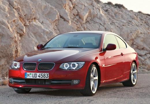 BMW Seria 3 E92 II coupe czerwony jasny przedni lewy