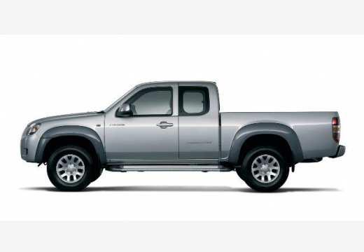 MAZDA B-seria pickup silver grey boczny lewy