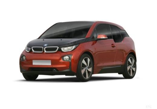 BMW i3 I01 I hatchback pomarańczowy przedni lewy
