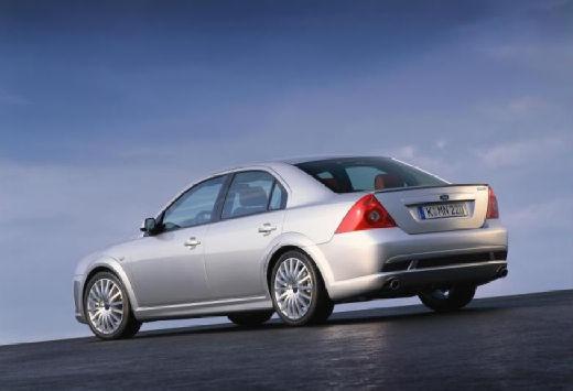 FORD Mondeo III sedan silver grey tylny lewy