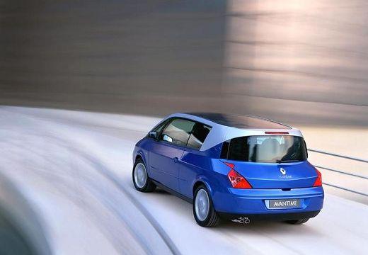 RENAULT Avantime hatchback niebieski jasny tylny lewy