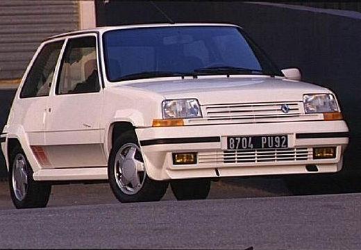 RENAULT R5 hatchback biały przedni prawy
