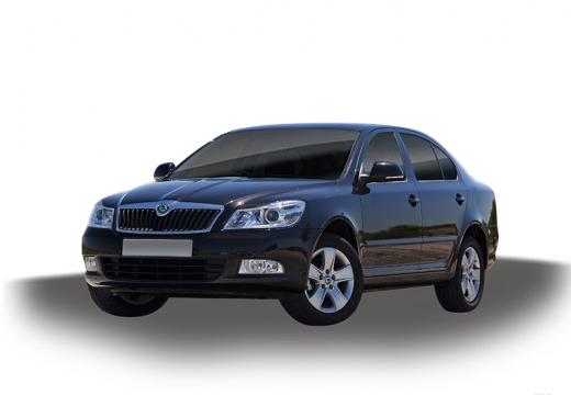 SKODA Octavia II II hatchback szary ciemny