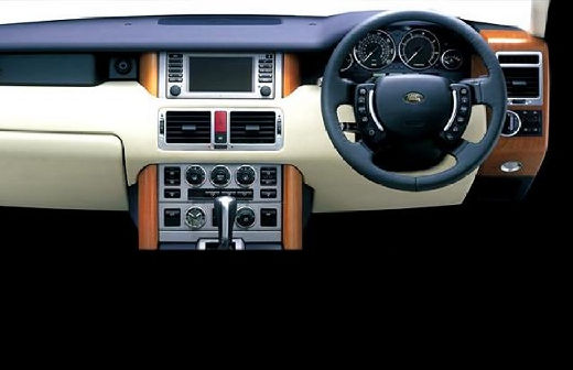 LAND ROVER Range Rover IV kombi tablica rozdzielcza