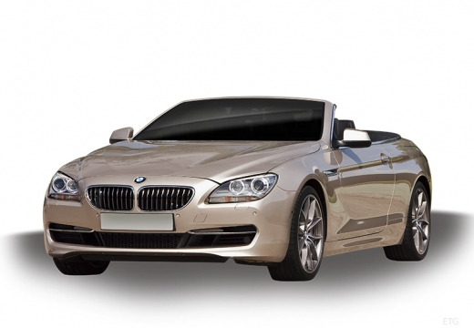 BMW Seria 6 Cabriolet F12 I kabriolet złoty