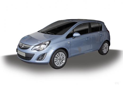 OPEL Corsa D II hatchback niebieski jasny