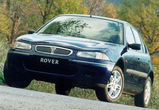 ROVER 200 III hatchback niebieski jasny przedni lewy
