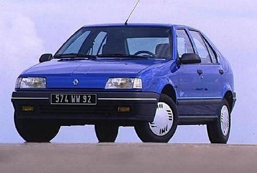 RENAULT R19 I hatchback niebieski jasny przedni lewy