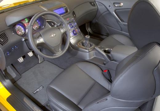 HYUNDAI Genesis I coupe wnętrze