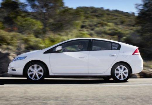 HONDA Insight hatchback biały boczny lewy