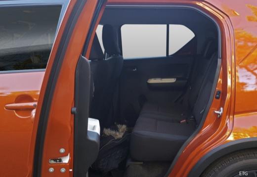 SUZUKI Ignis III hatchback wnętrze