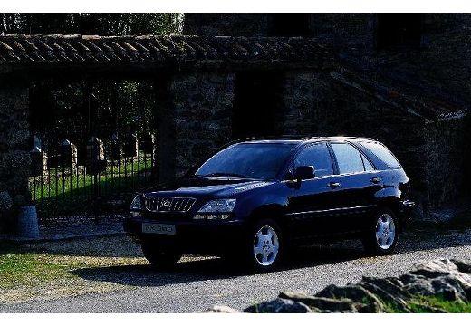 LEXUS RX 300 I kombi czarny przedni lewy