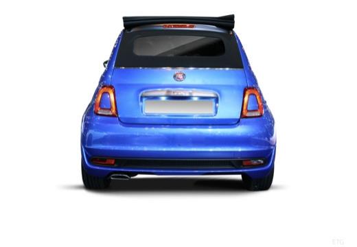 FIAT 500 kabriolet tylny