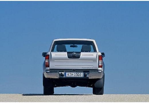NISSAN Pick Up pickup silver grey tylny