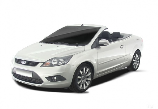 FORD Focus kabriolet silver grey