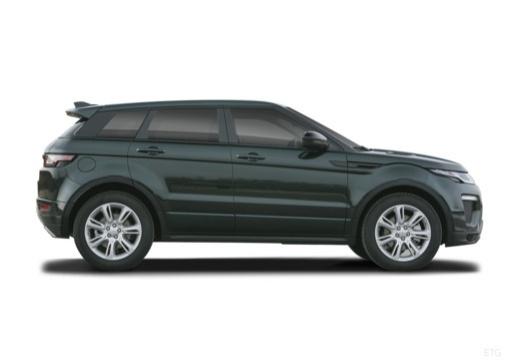 LAND ROVER Range Rover Evoque II kombi czarny boczny prawy