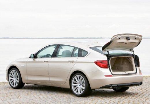 BMW Seria 5 Gran Turismo hatchback beige tylny lewy