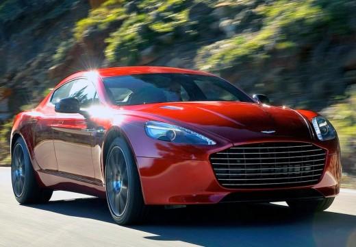 ASTON MARTIN Rapide coupe czerwony jasny przedni prawy