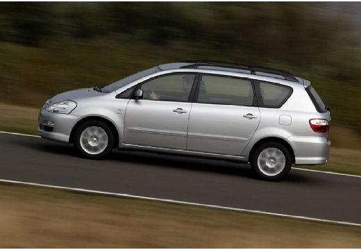 Toyota Avensis Verso II van silver grey boczny lewy