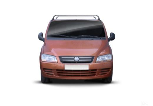 FIAT Multipla II kombi pomarańczowy przedni