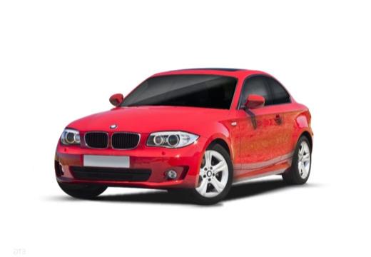 BMW Seria 1 coupe przedni lewy