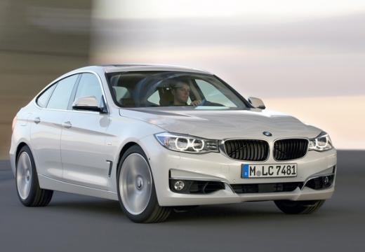 BMW Seria 3 Gran Turismo F34 I hatchback silver grey przedni prawy