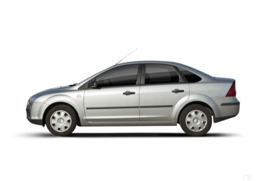 FORD Focus III sedan silver grey boczny lewy