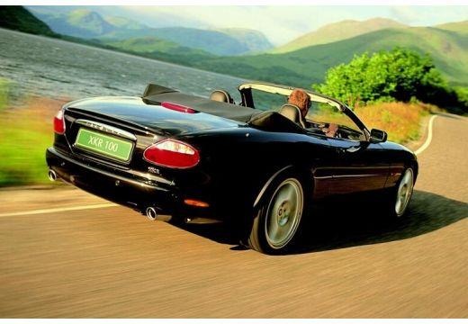 JAGUAR XK8 kabriolet czarny tylny prawy