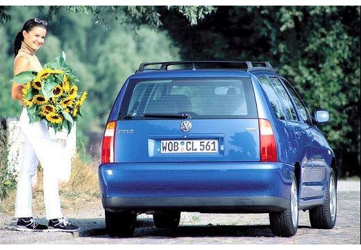VOLKSWAGEN Polo III Variant II kombi niebieski jasny tylny prawy