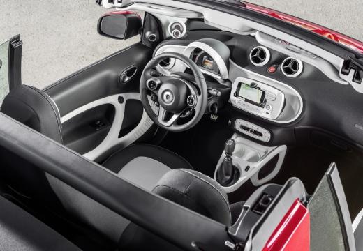 SMART fortwo cabrio III kabriolet tablica rozdzielcza