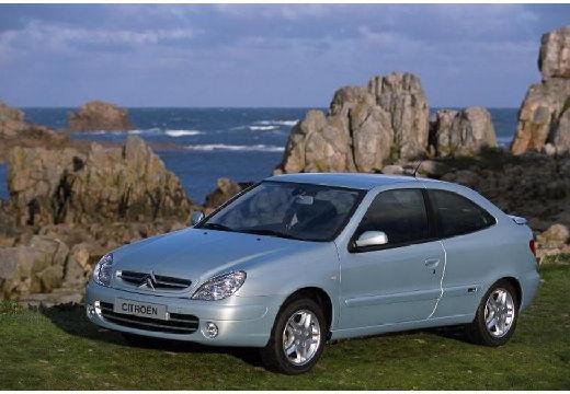 CITROEN Xsara II hatchback silver grey przedni lewy