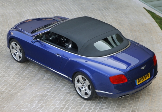 BENTLEY Continental GTC II kabriolet niebieski jasny tylny lewy
