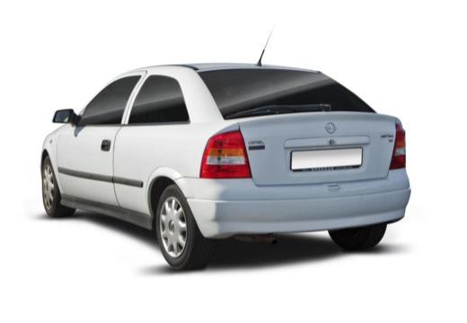 OPEL Astra II hatchback tylny lewy