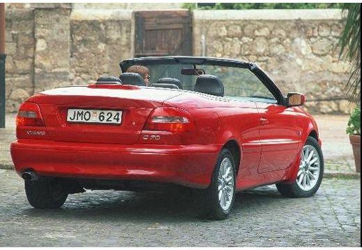 VOLVO C70 Cabrio I kabriolet czerwony jasny tylny prawy