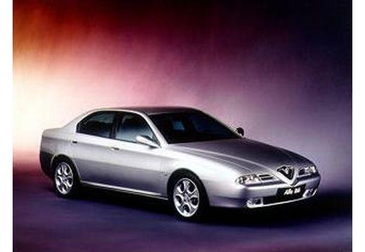 ALFA ROMEO 166 sedan silver grey przedni prawy