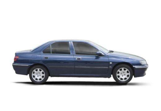 PEUGEOT 406 II sedan boczny prawy
