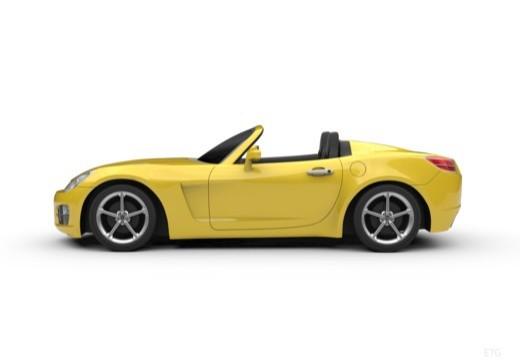 OPEL GT roadster boczny lewy