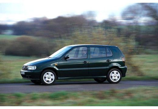 VOLKSWAGEN Polo III I hatchback zielony boczny lewy