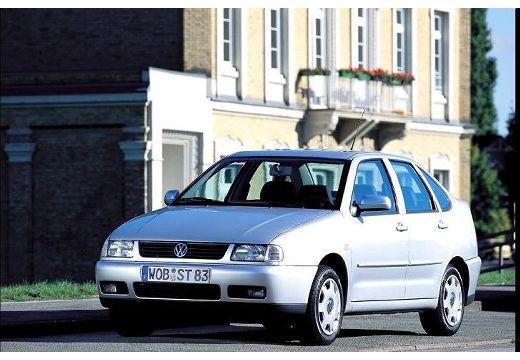 VOLKSWAGEN Polo III Classic II sedan silver grey przedni lewy