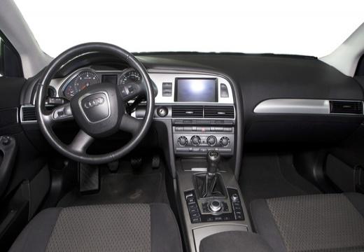 AUDI A6 Avant 4F I kombi czarny tablica rozdzielcza