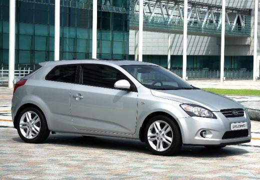 KIA Ceed Proceed II hatchback silver grey przedni prawy